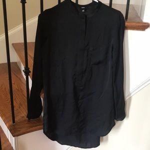 Beautiful black high low tunic